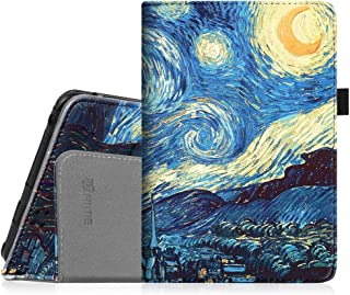 """Fintie Folio Case for Kindle Fire HD 7"""" (2012 Old Model) - Slim Fit Leather Cover with Auto Sleep/Wake Feature (Will only fit Amazon Kindle Fire HD 7, Previous Generation - 2nd), Starry Night"""
