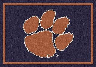 Milliken Clemson College Team Spirit Area Rug, 5'4