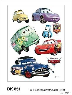 Disney Cars - 8 Grand Stickers Mureaux