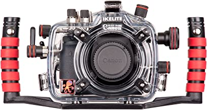 Ikelite 6871.08 Underwater Camera Housing with E-TTL for the Canon EOS 7D Mark II Digital Camera, Clear Molded