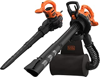 BLACK+DECKER Corded 2300 W Blower Vac Plus 55 L Backpack