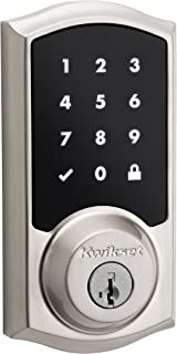 Kwikset 99150-002 SmartCode 915 Touchscreen Electronic UL Deadbolt with Smart Key, Satin Nickel