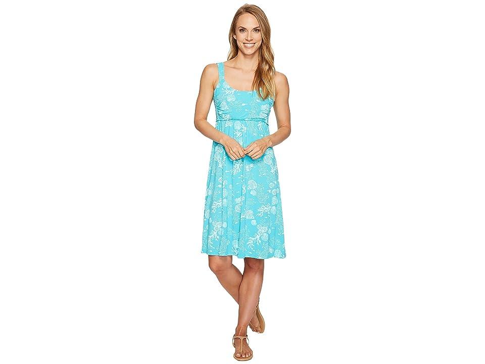 Fresh Produce White Sands Impromptu Dress (Luna Turquoise) Women
