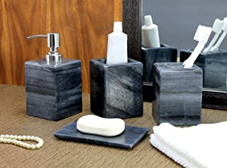 Best black stone bathroom accessories Reviews
