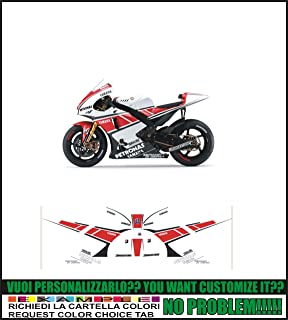 kit adesivi stickers compatibili YZF R1 R6 REPLICA MOTO GP M1 2013