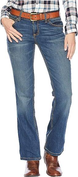 Retro Mid-Rise Mae Jeans
