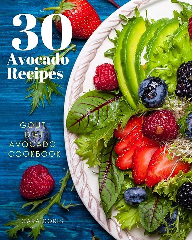 罪人ガソリン罪30 Avocado Recipes 2019 Gout Diet Avocado Cookbook (English Edition)
