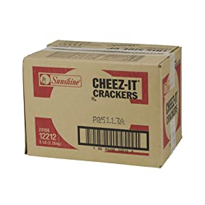 Cheez-It Baked Snack Cheese Crackers, Original, (Pack of 8) 80 Ounce
