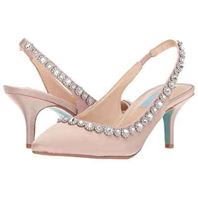 Blue by Betsey Johnson Cici (Nude Satin) Women