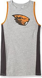 NCAA Oregon State Beavers Youth 8-20 Fan Gear Tank Shirt, X-Large (18), Heather Grey