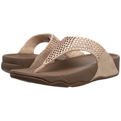 FitFlop Glitzie Toe-Thong Sandals (Nude) Women