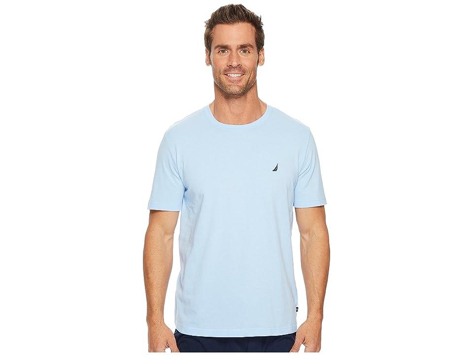 Nautica Knit Sleep T-Shirt (Noon Blue) Men