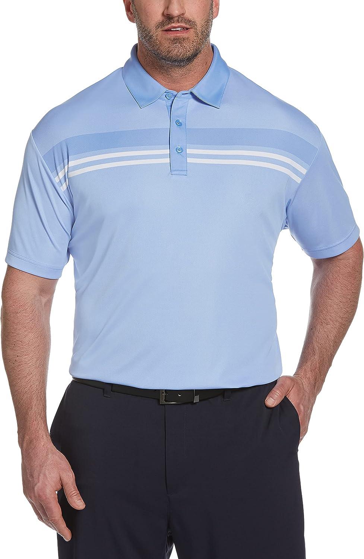 Callaway Outlet sale feature Men's Short Sleeve Birdseye Popular overseas Polo Block Color