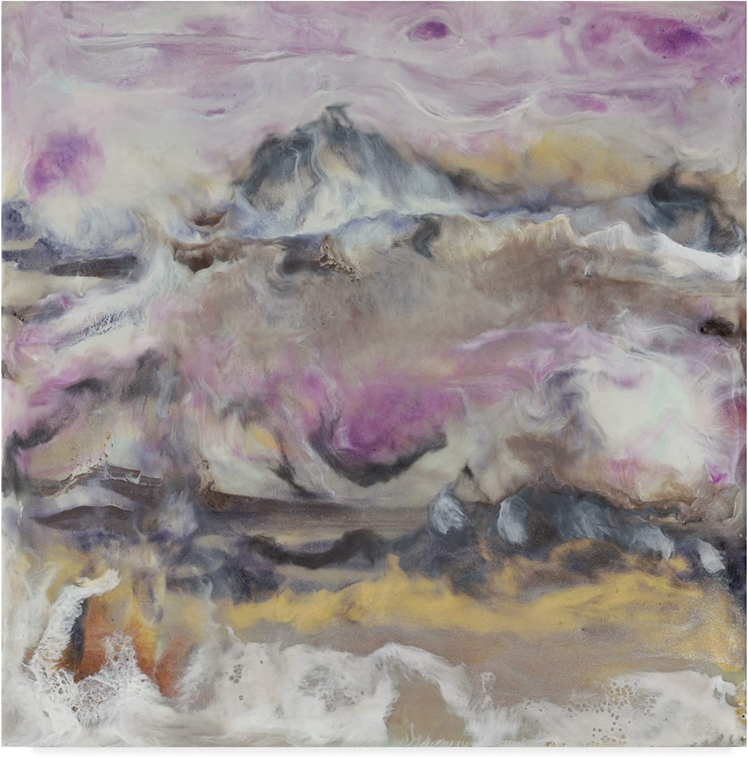 Trademark Fine Art Lavender Billows I by J. Holland, 14x14