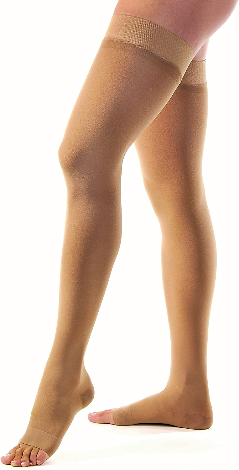 JOBST Ranking TOP14 Relief Thigh High Open Toe Stockings Unisex Ranking TOP19 Compression