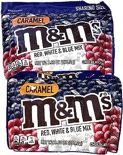 Caramel M&M's Red White & Blue Mix - 2 pkgs