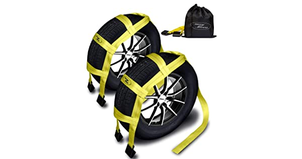 - Universal Tow Dolly Straps System /& Flat Hook Design Savvy Movers T/&HI-B0755KYGDL Tow Dolly Straps with Flat Hooks /& Carrying Bag - Essential Vehicle Tow Dolly Strap Harness 2 Pack 10.000 lbs Working Capacity