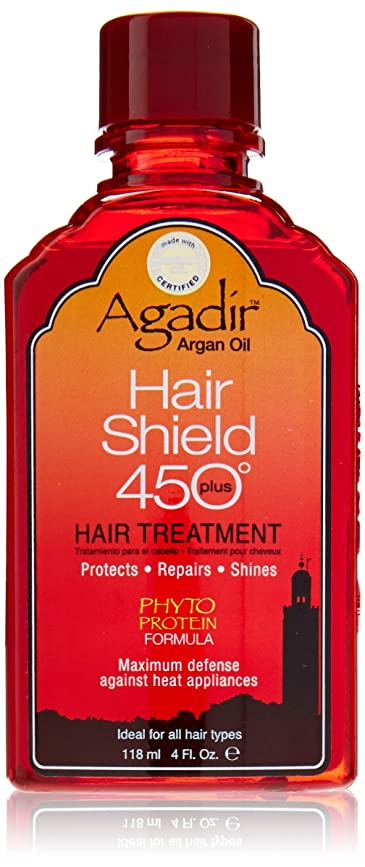 蓋ボンド配偶者アガディール Hair Shield 450 Plus Hair Treatment (For All Hair Types) 118ml