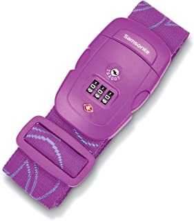 Samsonite Luggage Strap, Ultraviolet, Combination Lock