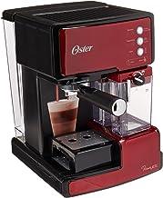 Oster BVSTEM6601R013 Cafetera, Rojo