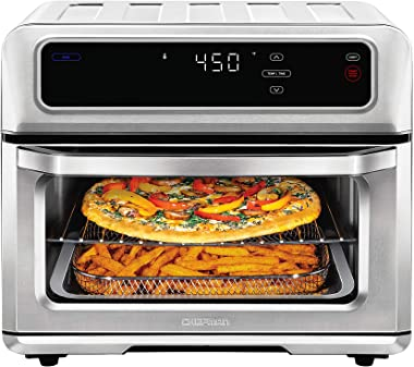 CHEFMAN Air Fryer Toaster Oven XL 20L, Healthy Cooking & User Friendly, Countertop Convection Bake & Broil, 9 Cooking