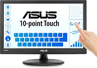 "ASUS 15.6"" 1366x768 HDMI VGA 10-Point Touch Eye Care Screen LCD Monitor (VT168H)"