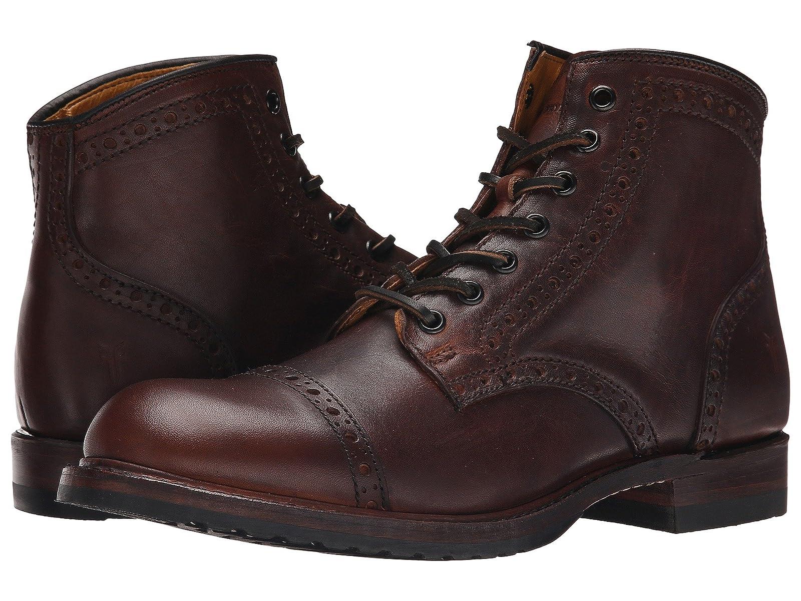 Frye Logan Brogue Cap ToeAffordable and distinctive shoes