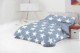 Funda Nórdica Javier Larrainzar Star Azul Cama 90 cm. (3