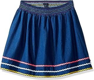 Girls' Mesh Overlay Skirt