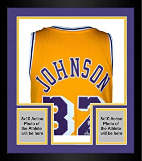 magic johnson autographed jersey