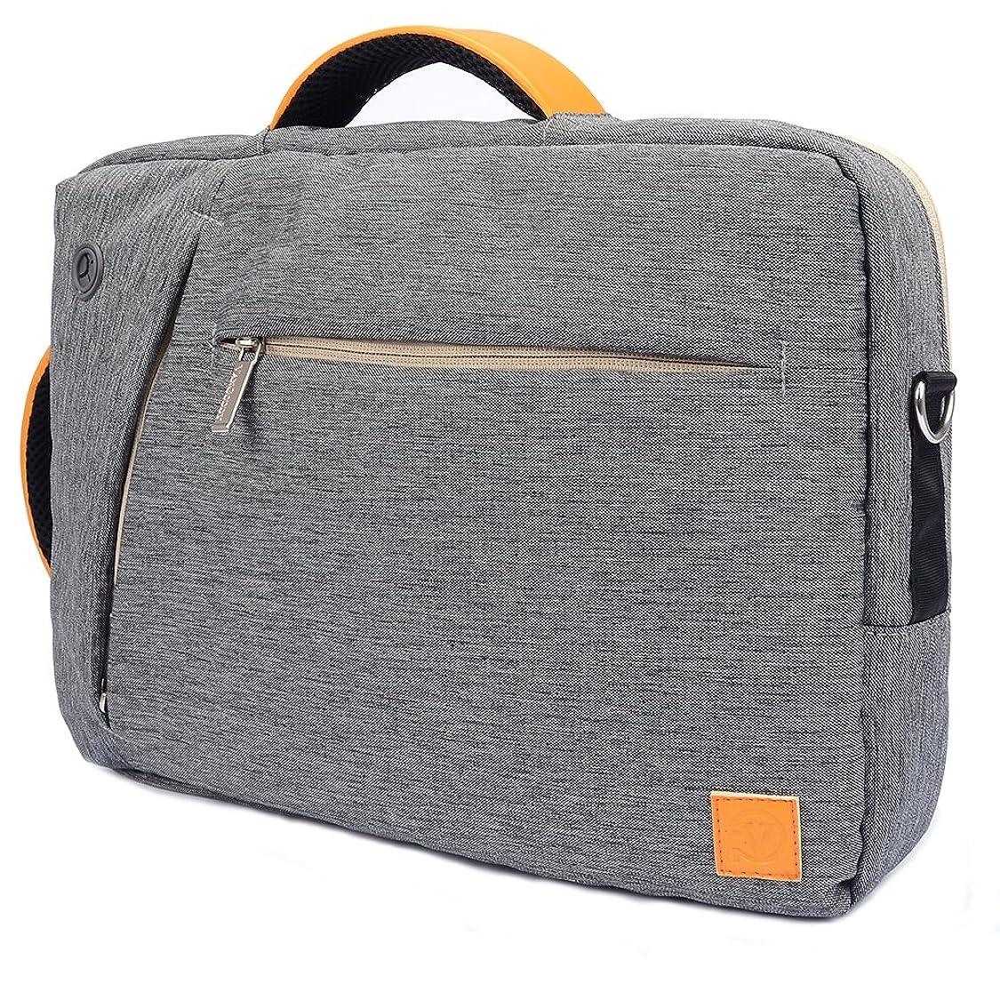VanGoddy 3 in 1 Shoulder Bag Backpack Messenger Bag HP Envy x360/ Omen/Pavilion / ProBook 15.6'' Laptop(Gray) sa75834247557724