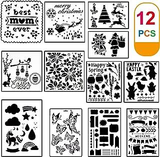 Best craft stencil templates Reviews