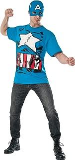 Rubie's Costume Men's Marvel Universe Classic Captain America T-Shirt/Mask