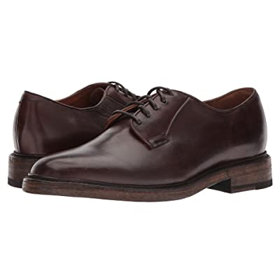Frye Jones Oxford (Brown Tumbled Full Grain) Men