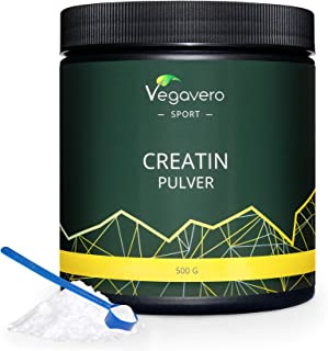 Creatina Monohidratada Vegavero® Sport | La Única Sin Aditivos | Micronizada Mesh 200 | Con Certificado