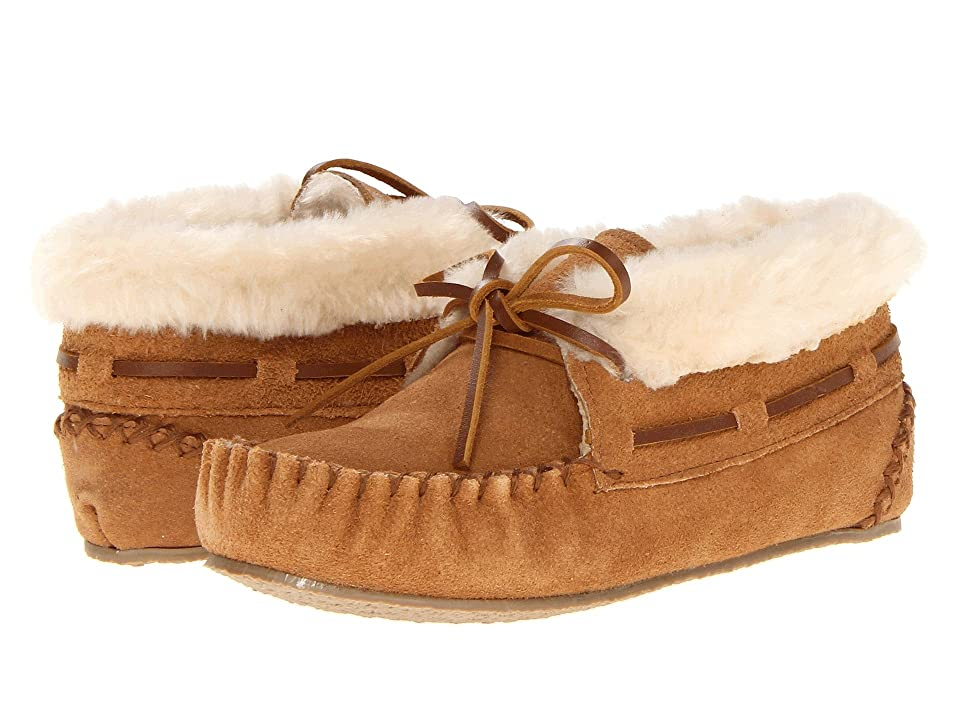 Minnetonka Kids Charley Bootie (Toddler/Little Kid/Big Kid) (Cinnamon Suede) Girl