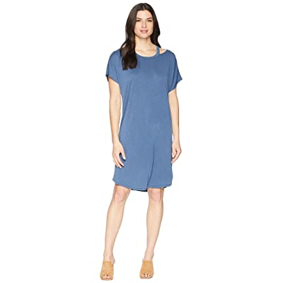 NIC+ZOE Open Road Dress (Rich Indigo) Women