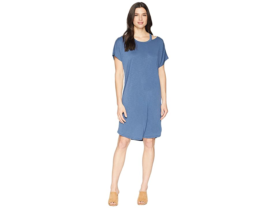 NIC+ZOE Open Road Dress (Rich Indigo) Women