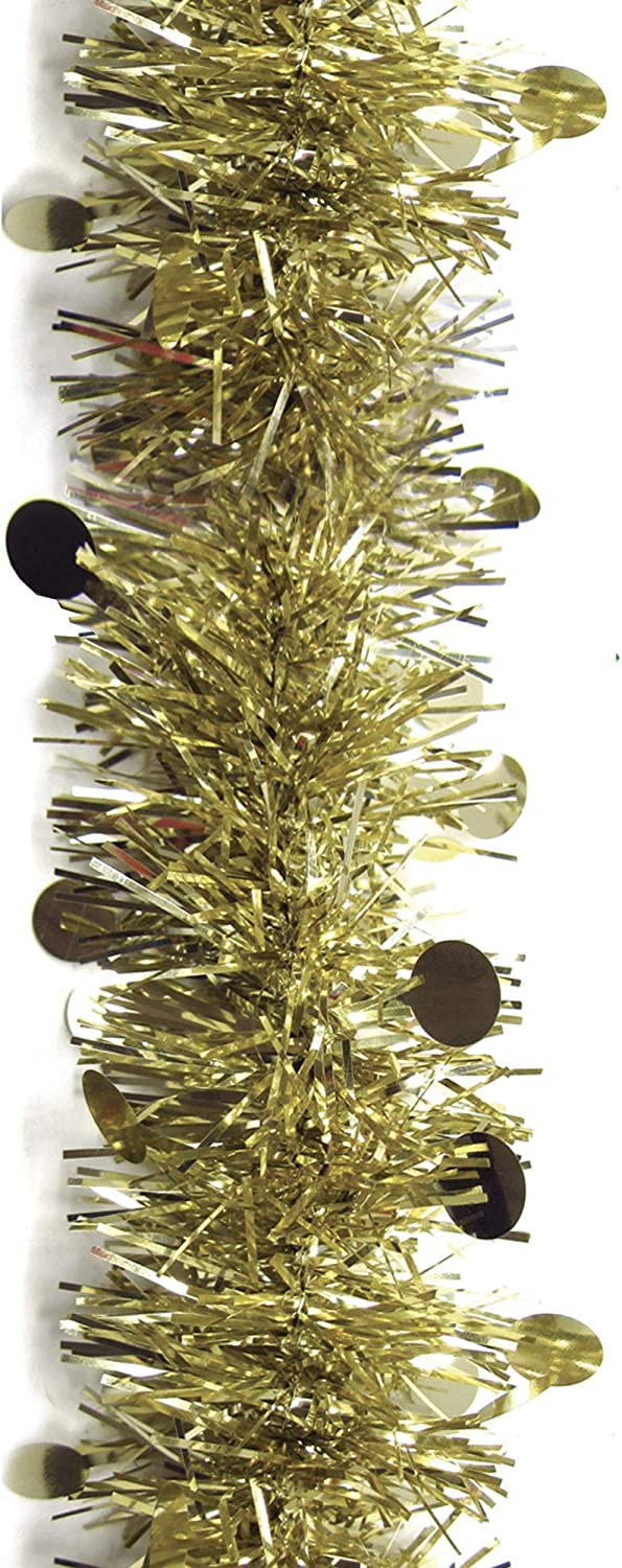 Brite Star We OFFer at cheap prices Whimsical Spring new work one after another Die Cut Tinsel Gold