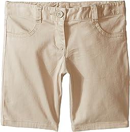 Girls Plus Five-Pocket Shorts (Big Kids)