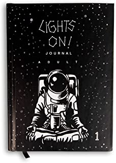Lights On Journal Adults Book 1 – Growth Mindset and Self Development Journal for Adults Aged 16 Years & Above to Promote ...