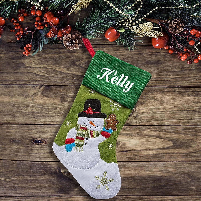 Skartam Christmas Stockings Personalized Custom Xm Name Albuquerque Mall Factory outlet Stocking