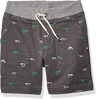 Amazon Brand - Spotted Zebra Boy's Toddler & Kid's Pull-on Shorts