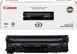 Canon Genuine Toner Cartridge 137 Black (9435B001), 1-Pack, for Canon ImageCLASS MF212w, MF216n, MF217w, MF244dw, MF247dw,...