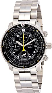 Seiko Wrist Watch Mens Chronograph Sport Watch, Analog and Stainless Steel - SNA411P1