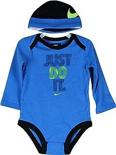 Nike Baby Set blau Anzug und Mütze 6-9 Monate