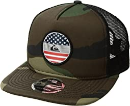 Quiksilver Flag Trucker Hat