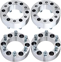ECCPP 6 lug wheel Spacer 6x139.7mm 2 inch 4X 6x5.5 to 6x5.5 108mm fits for Nissan Frontier Pathfinder Armada Titan Xterra Pickup Infiniti QX56 QX4 with 12x1.25 Studs