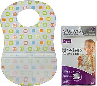 Neat Solutions(ニート・ソリューション) Bibsters マジックテープ式使い捨てエプロン ビブスター 24 x 37cm 12枚