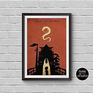 Best hayao miyazaki minimalist movie poster Reviews